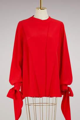 Givenchy Long sleeves crpe blouse