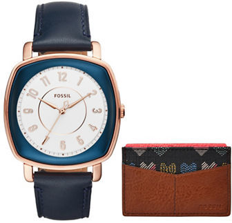FossilFossil Casual Idealist Leather Strap Watch