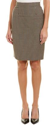 Escada Wool Pencil Skirt