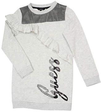 GUESS Fleece Sweater Dress