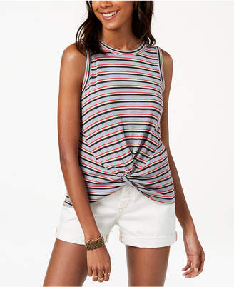 Lucky Brand Twist-Front Tank Top