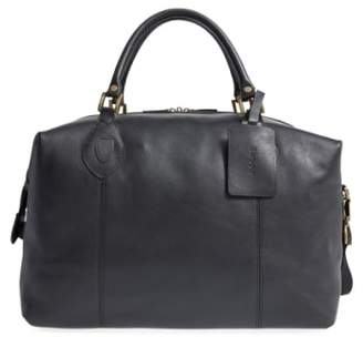 Barbour Leather Duffel Bag
