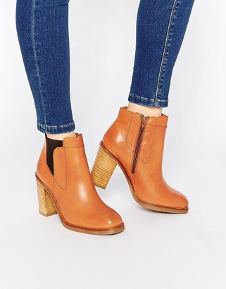 Bronx Heeled Ankle Boots $126 thestylecure.com