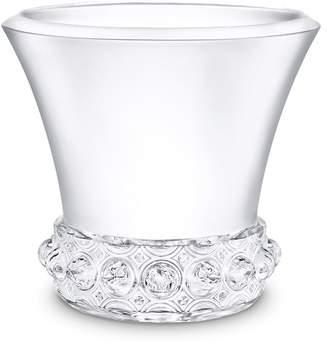 Lalique Lagune large crystal vase