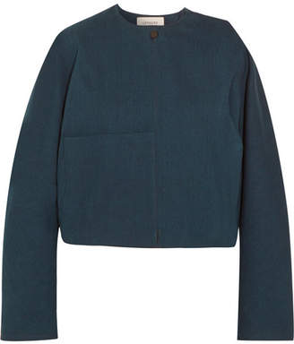 Lemaire Oversized Cropped Denim Jacket - Indigo