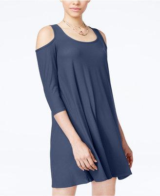 Planet Gold Juniors' Cold-Shoulder Dress $39 thestylecure.com