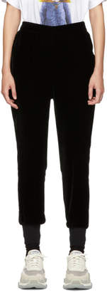 Stella McCartney Black Velvet Trousers