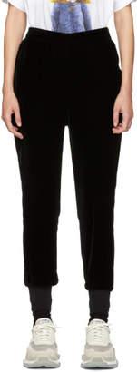 Stella McCartney Black Velvet Trousers