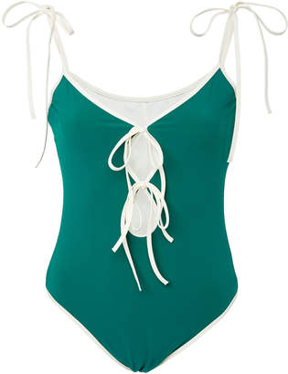 Karla Colletto Layla Keyhole One-Piece Swimsuit