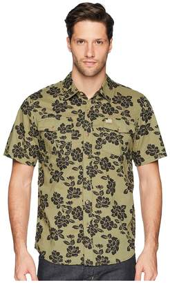 Captain Fin Jungle Rose Short Sleeve Woven Men's Clothing