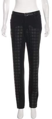 Chanel Paris-Byzance Leather Appliqué Pants