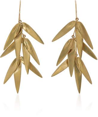 Annette Ferdinandsen Exclusive: Golden Bamboo Cluster Earring