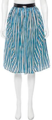 Tanya Taylor Margot Knee-Length Skirt