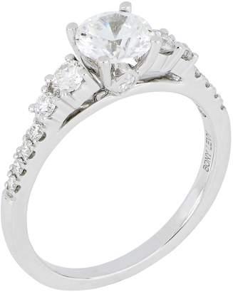 Bony Levy Multi Stone Round Engagement Ring Setting