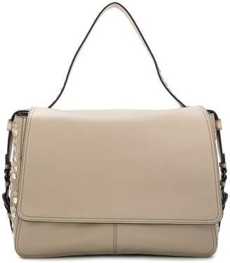 Bottega Veneta rivet embellished Intrecciato shoulder bag