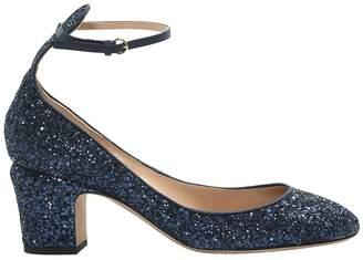 dfee3876 Navy Glitter Heels - ShopStyle