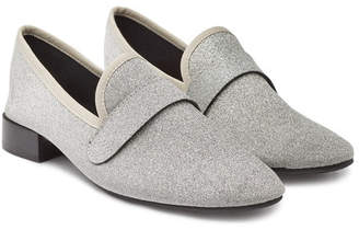 Repetto Maestro Glitter Loafers with Leather