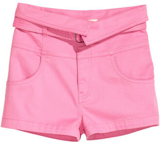 H&M Shorts with Belt - Pink