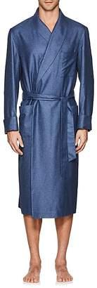 Loro Piana Men's Julien Silk-Cashmere Robe