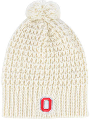 Top of the World Women Ohio State Buckeyes Slouch Pom Knit Hat