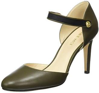 Nine West Women's Hansine Leather Pump,7