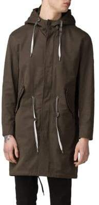 Ben Sherman Hooded Fishtail Parka