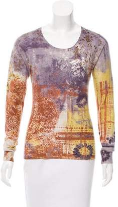 Etro Silk And Cashmere-Blend Sweater