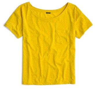 Women's J.crew Relaxed Boat Neck Tee $29.50 thestylecure.com