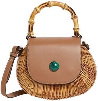 Wai Wai Rio Wicker Marina Top Handle Bag
