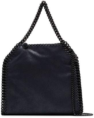 Stella McCartney navy blue falabella mini shoulder bag
