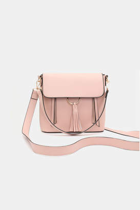 Ardene Backpack/Crossbody Tassel Bag