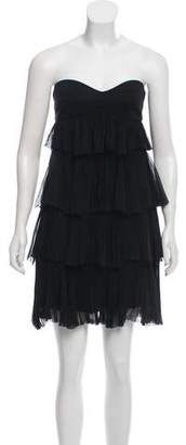 Diane von Furstenberg Ruffled Mini Dress