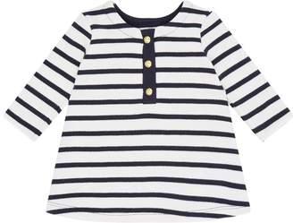 Petit Bateau Striped ButtonDress
