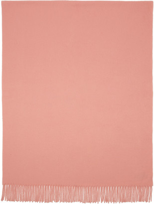 Acne Studios Pink Canada Scarf $180 thestylecure.com