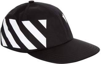 Off-White Off White Chevron Baseball Cap
