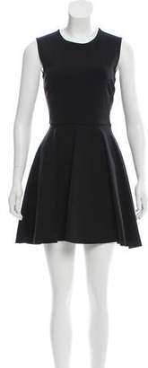 Diane von Furstenberg Scoop Neck A-Line Dress