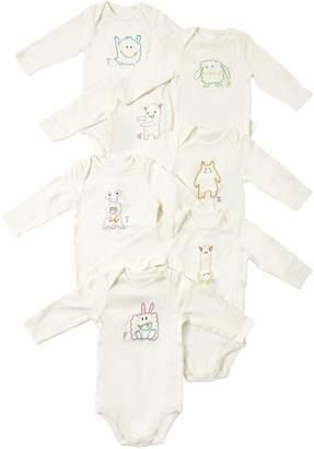 Stella McCartney Set Of 7 Cotton Interlock Bodysuits