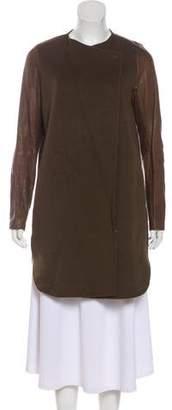 Vince Wool Shearling Coat