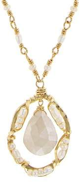 Dana Kellin Floating Stone Necklace, 16.5""