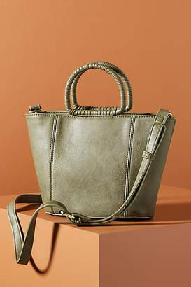 Anthropologie Kirstie Wrapped Handle Bucket Bag