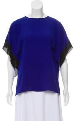 Andrew Gn Silk Oversize Top