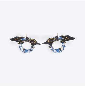 Balenciaga Scarf Earrings