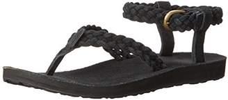 Teva Women's W Original Suede Braid Ankle Strap Sandal