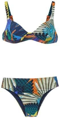 Lygia & Nanny printed Lili bikini set