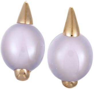 Pomellato 18K Chalcedony Earrings