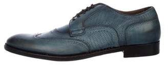 Dolce & Gabbana Wingtip Leather Derby Shoes