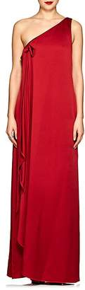 Valentino Women's Crepe One-Shoulder Gown