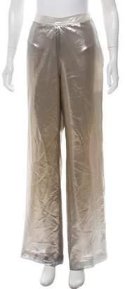 Oscar de la Renta High-Rise Pants