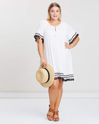 ICONIC EXCLUSIVE - Riley Frill Tassel Dress