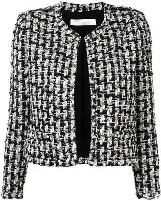 IRO collarless classic jacket